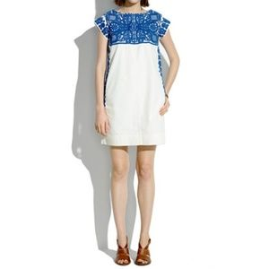 Madewell Casita Embroidered Dress